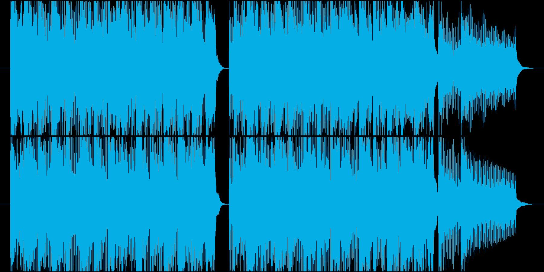 15秒CMの9 元気な子供達の再生済みの波形