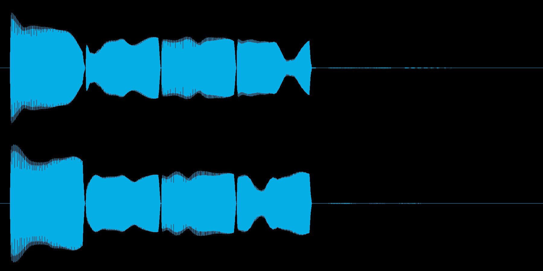 テロリラ(アラートに最適)の再生済みの波形