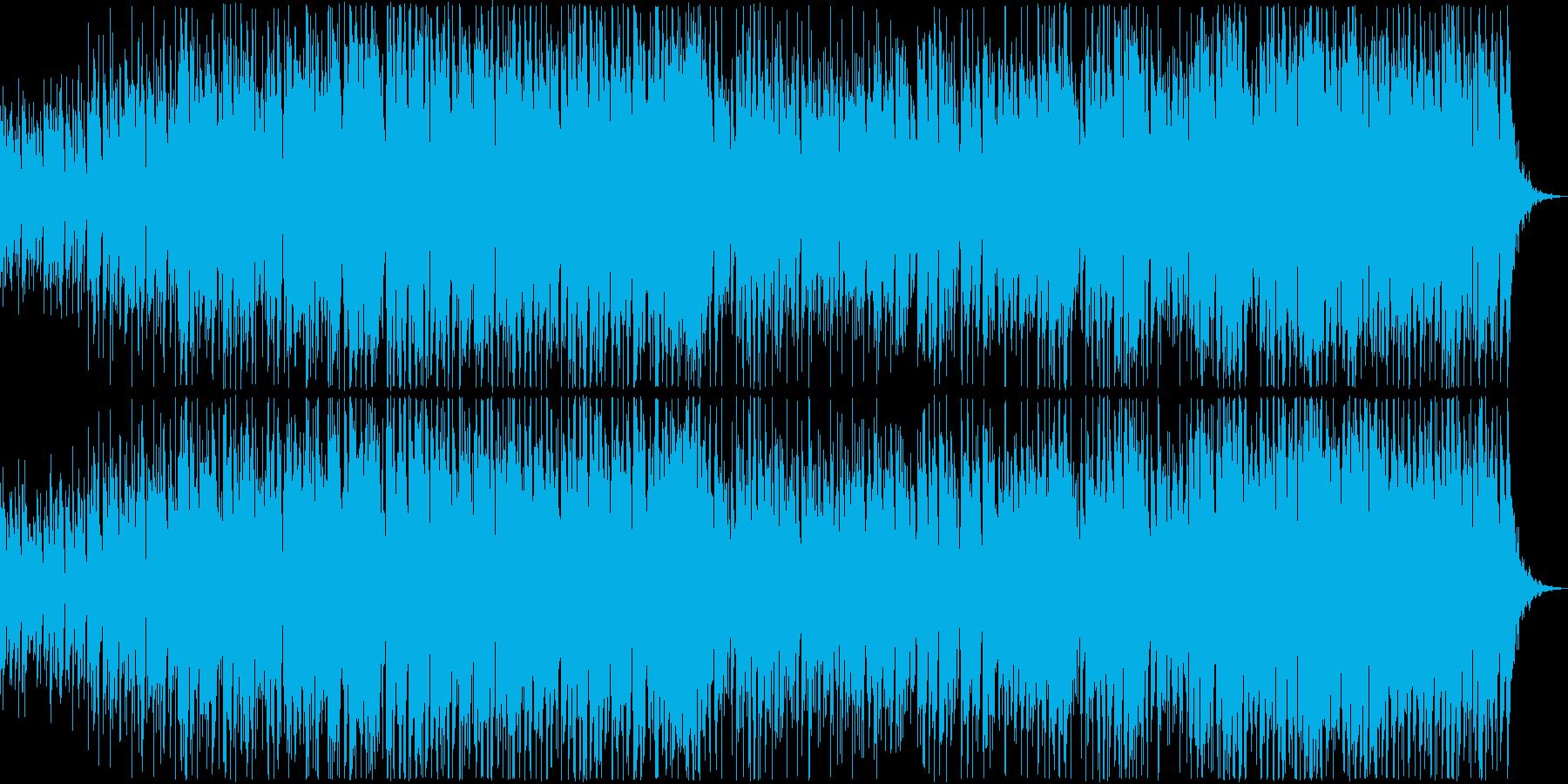 やさしくてあまいラブソング・ボサノバの再生済みの波形