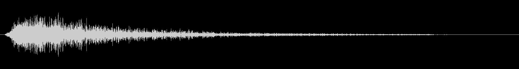 ジャン(オケヒット オーケストラヒット)の未再生の波形