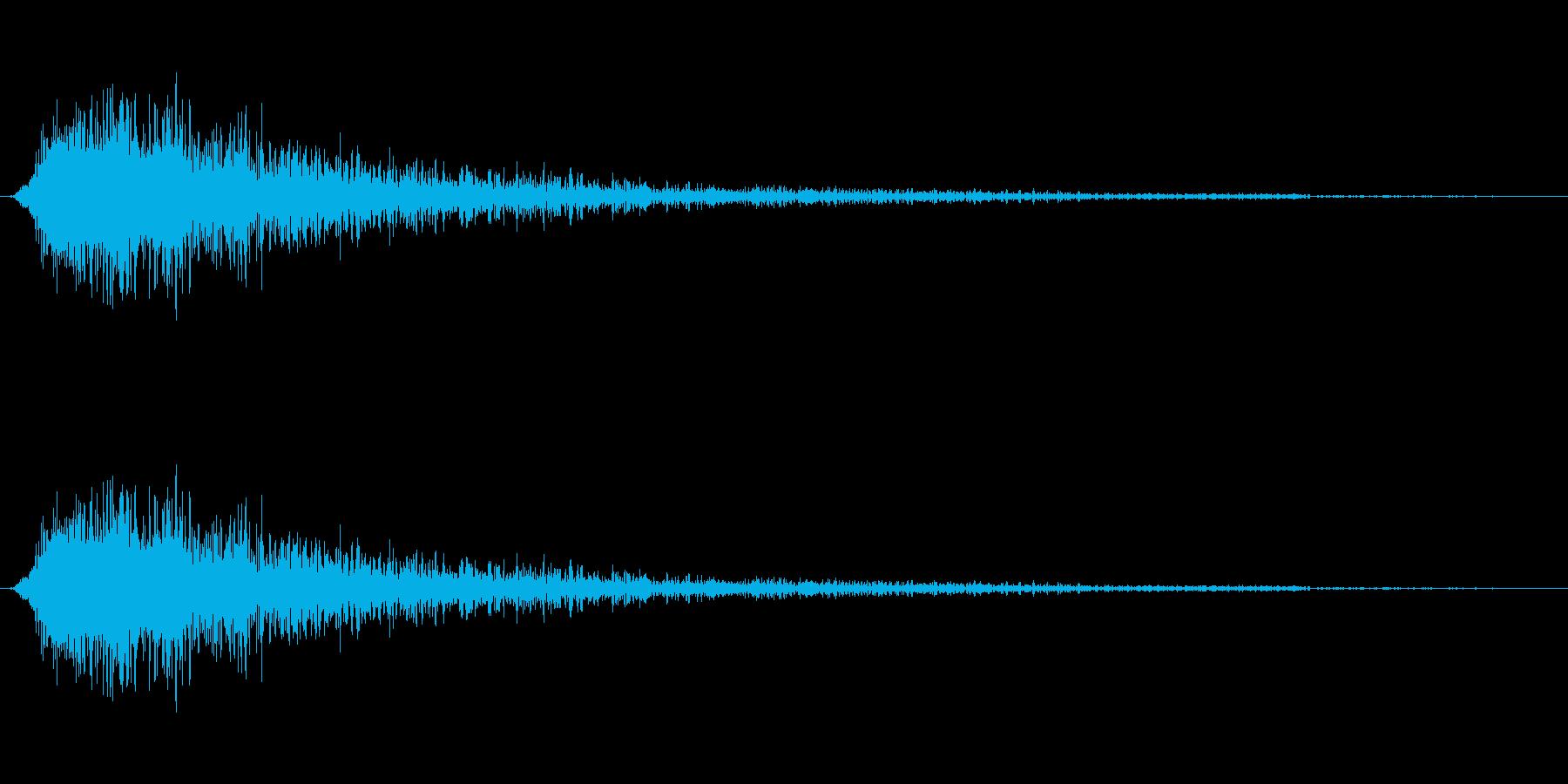 ジャン(オケヒット オーケストラヒット)の再生済みの波形