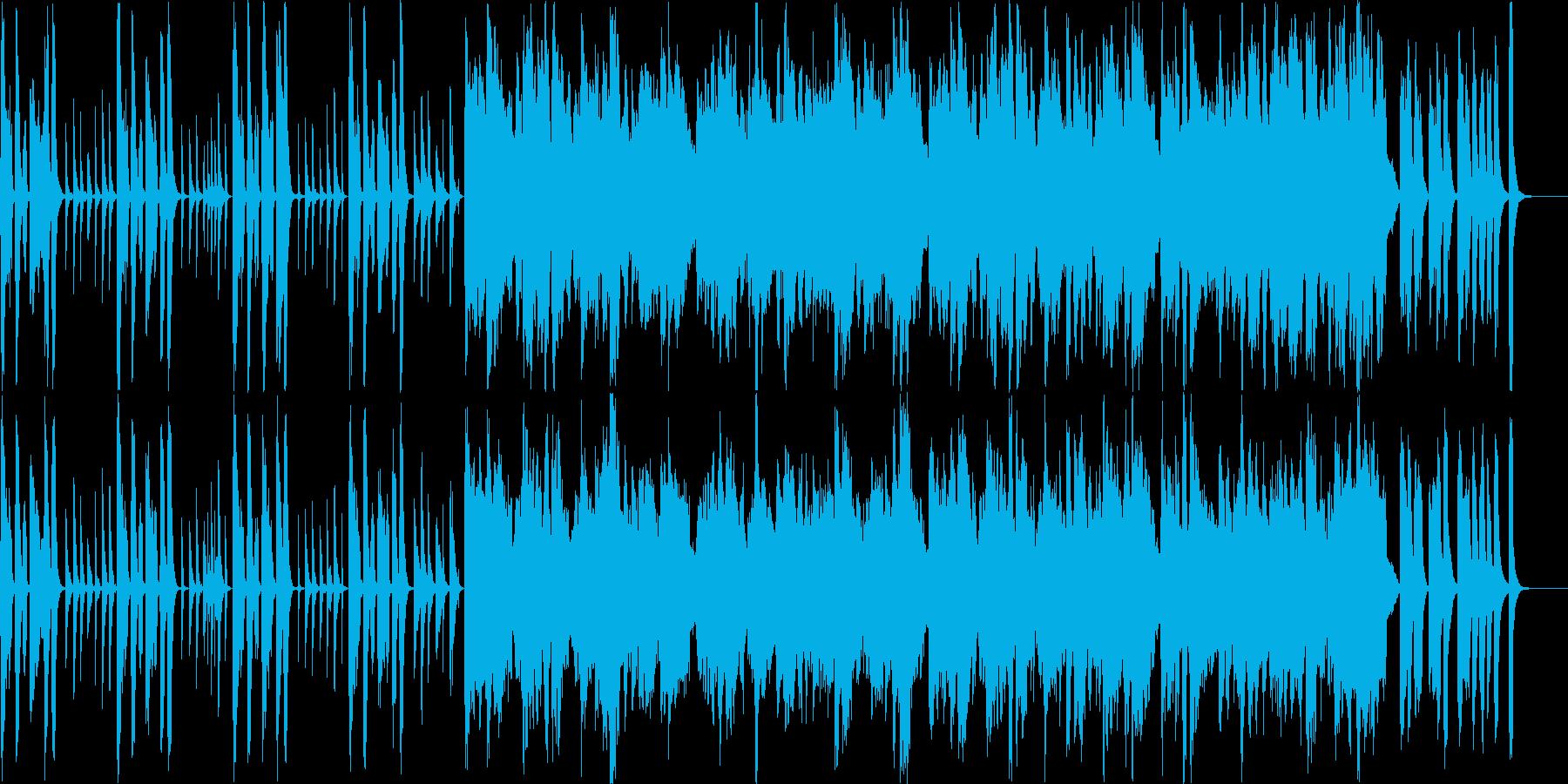 かわいい料理番組風のほのぼの系BGMの再生済みの波形