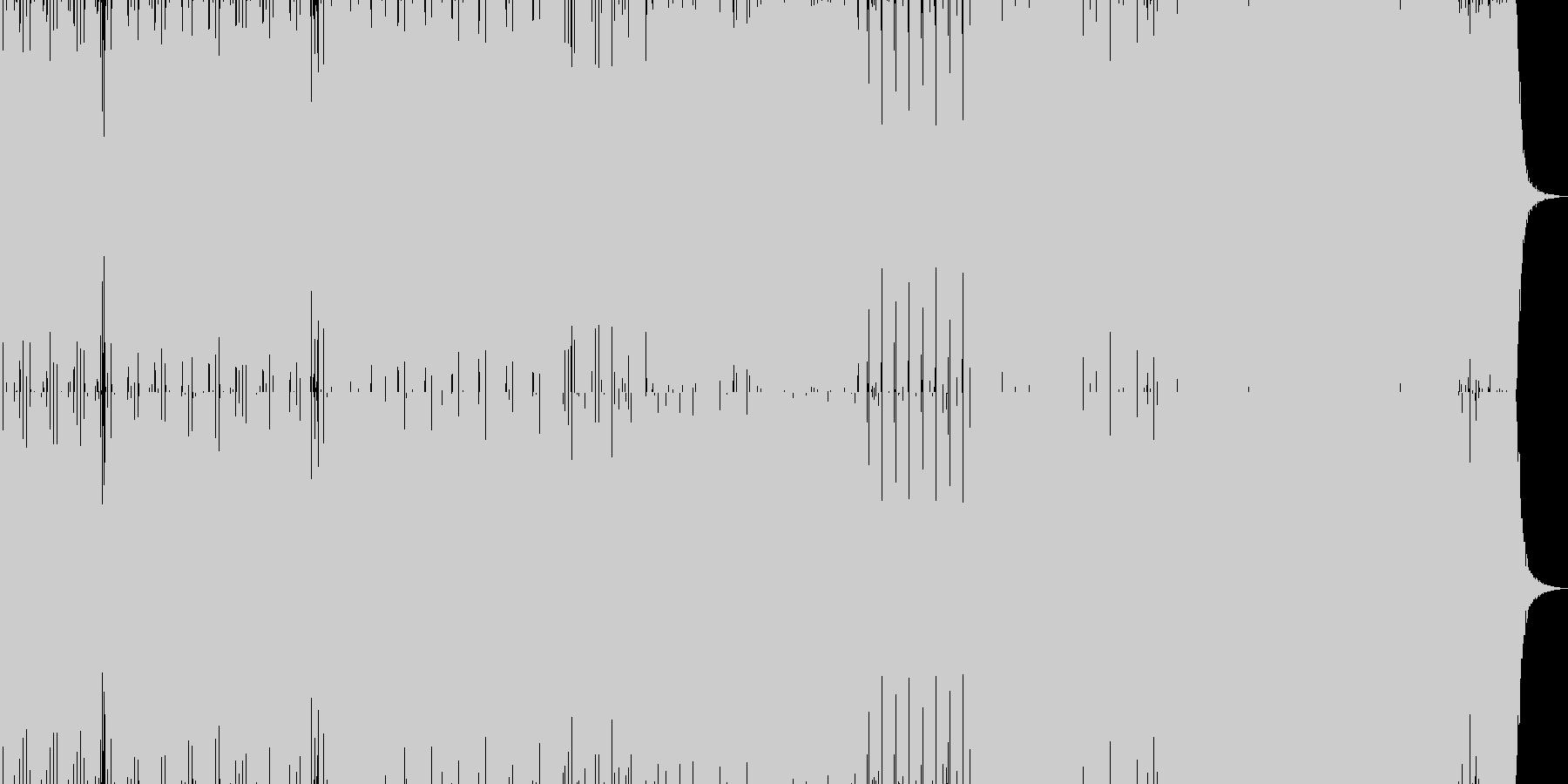 緊急性のあるRAVEの未再生の波形
