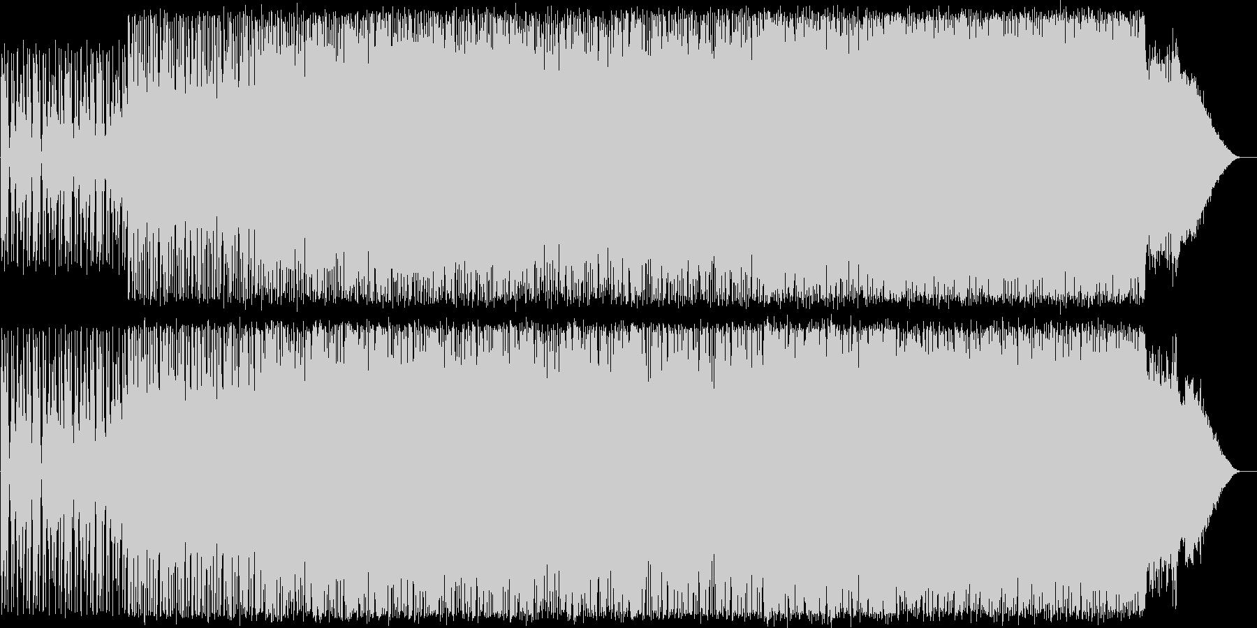 P02〜明るく前向きなロック系BGMですの未再生の波形
