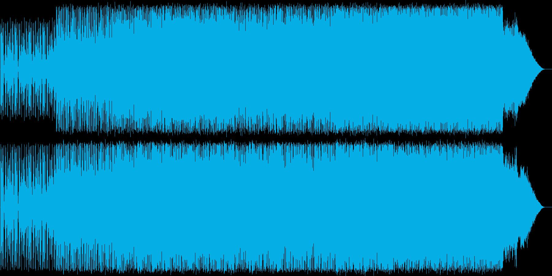 P02〜明るく前向きなロック系BGMですの再生済みの波形