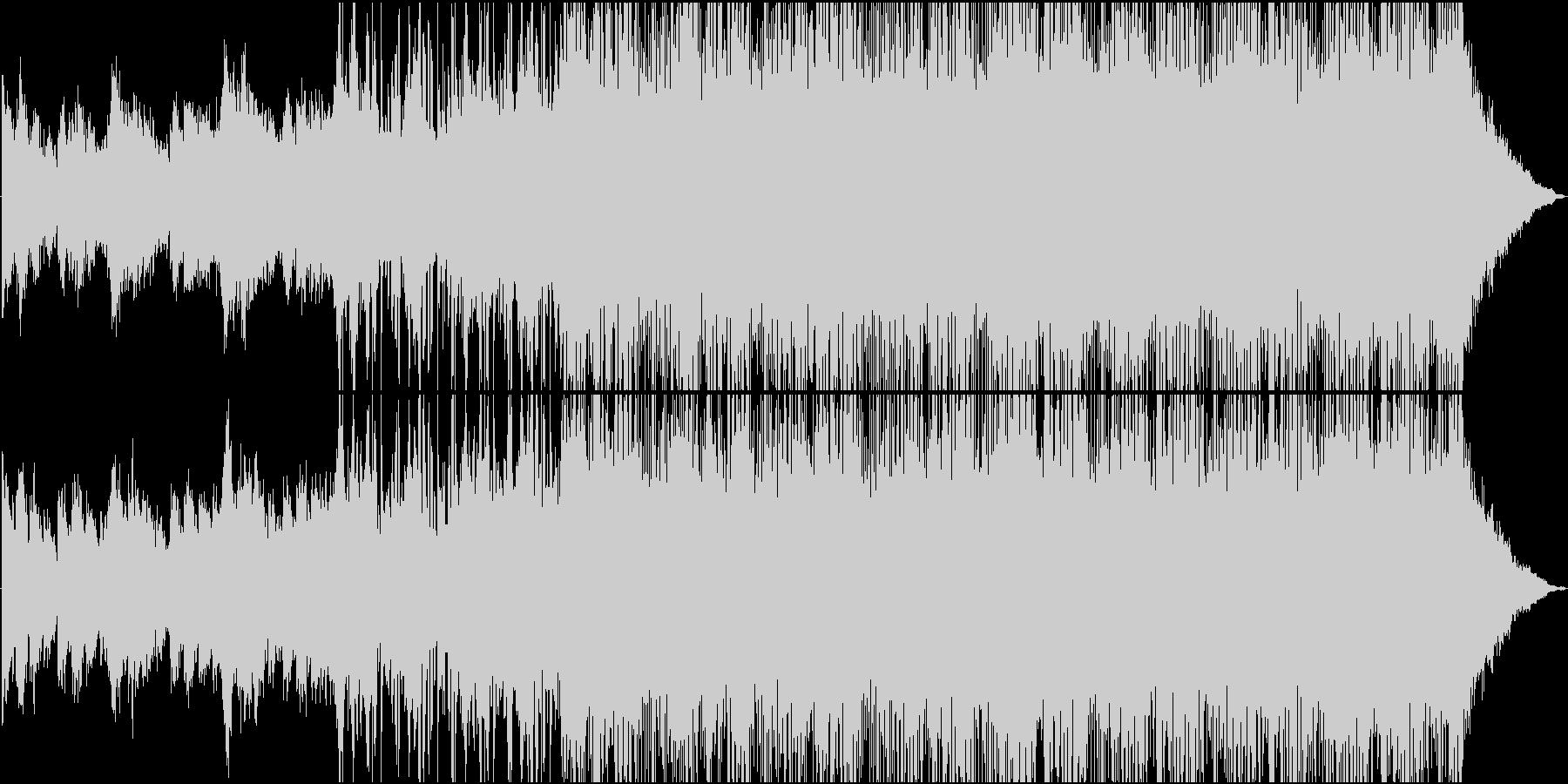 母なる星を連想させるエレクトロニカの未再生の波形