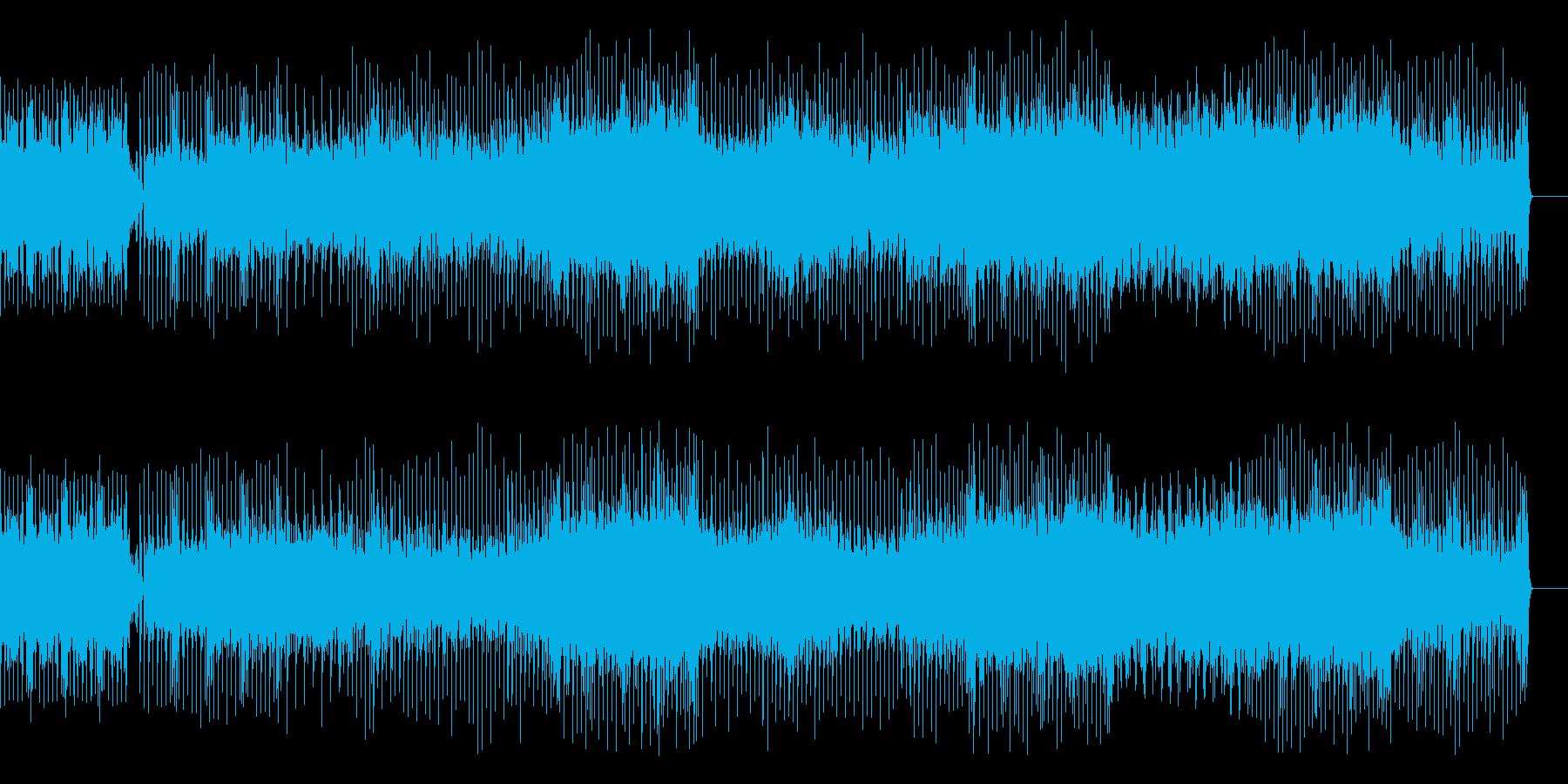 EDM/ポップメロ/ゲームサウンドの再生済みの波形