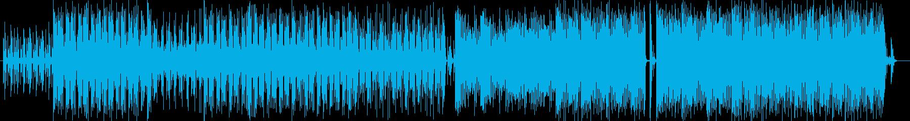 明るくいまにもおどりだす楽しい音楽の再生済みの波形