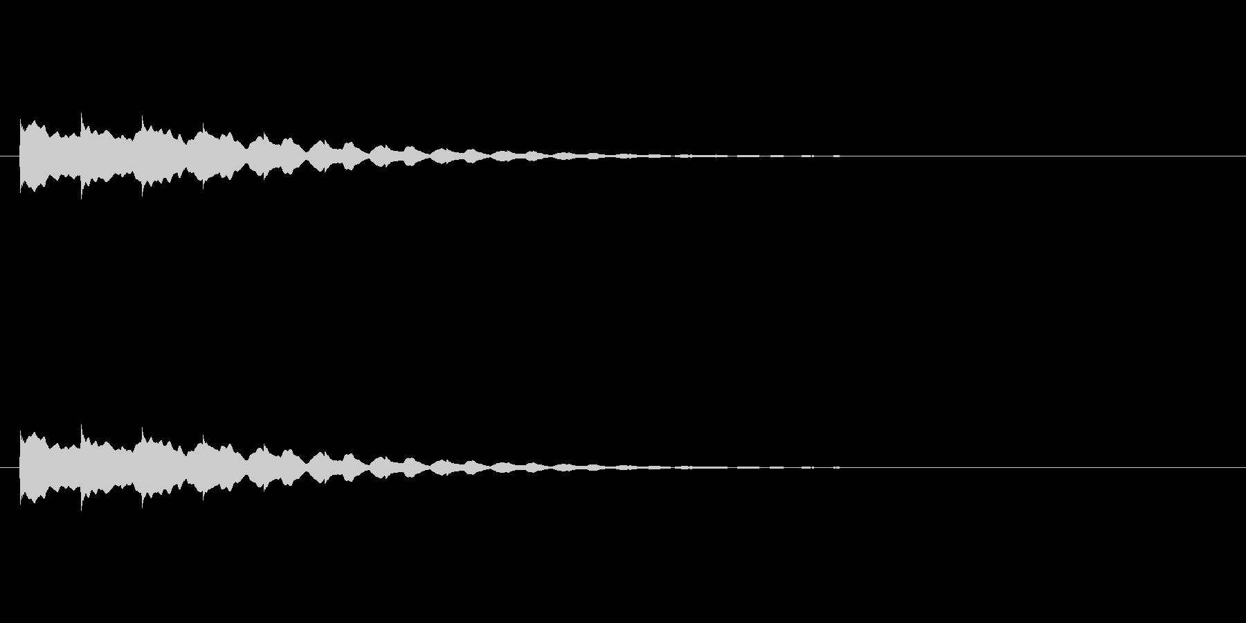 【アクセント19-3】の未再生の波形
