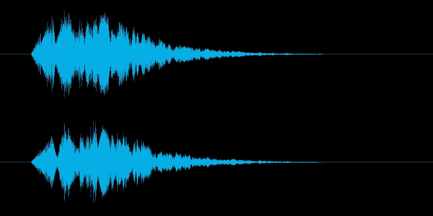 フォンファンファ(不思議、ファンタジー)の再生済みの波形