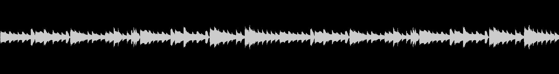 ピアノメロループ/ダーク/切ない#4の未再生の波形