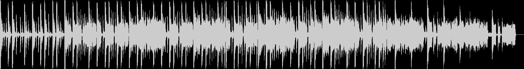 エレクトリックなジングル向け曲の未再生の波形
