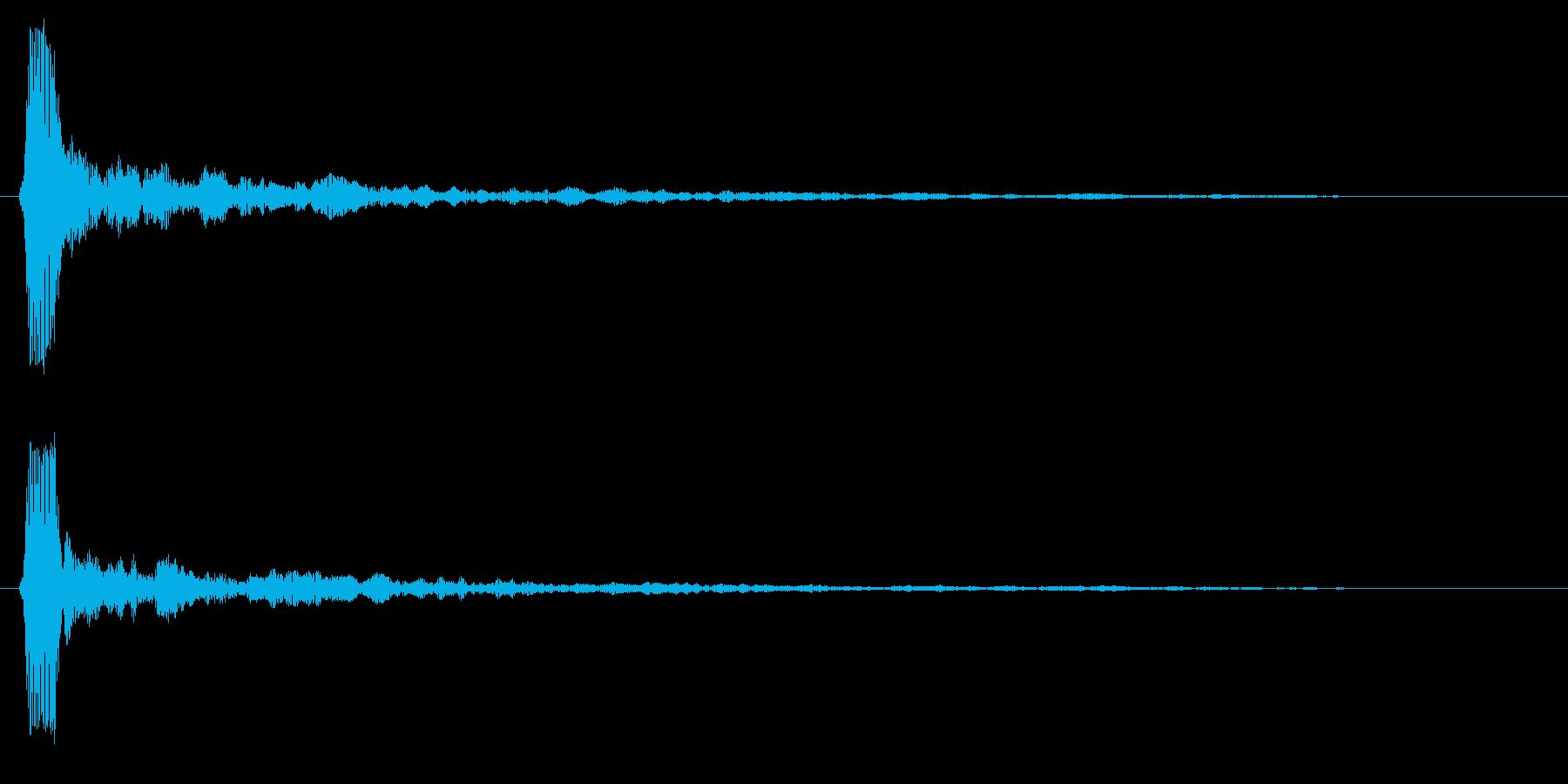 ブロック崩し(コテッ)の再生済みの波形