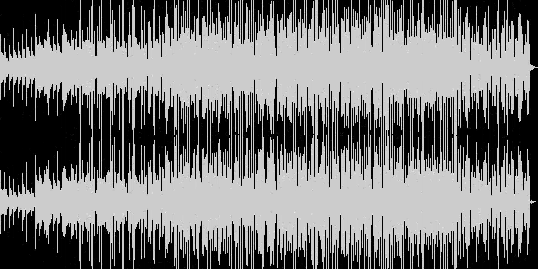 5thコードのピアノが印象的なBGMの未再生の波形