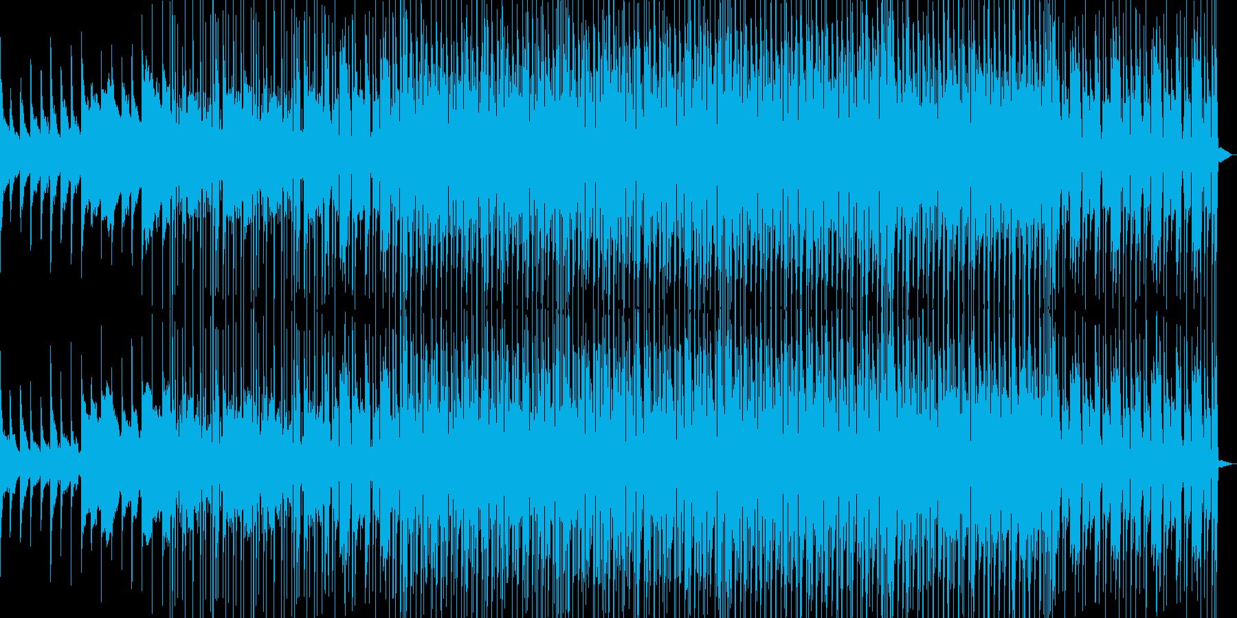 5thコードのピアノが印象的なBGMの再生済みの波形