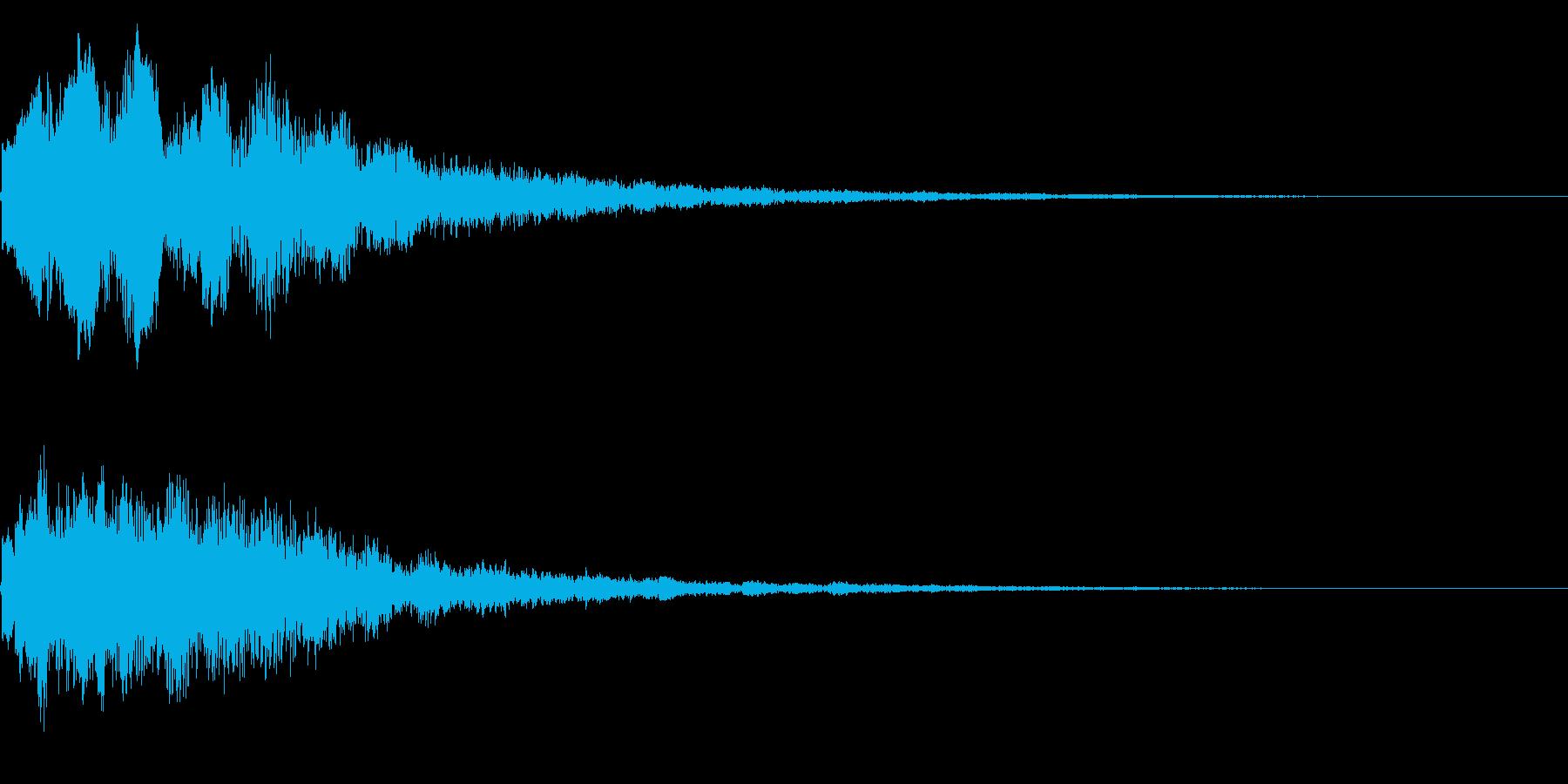 キラーン(星、光、魔法、テロップ等)03の再生済みの波形
