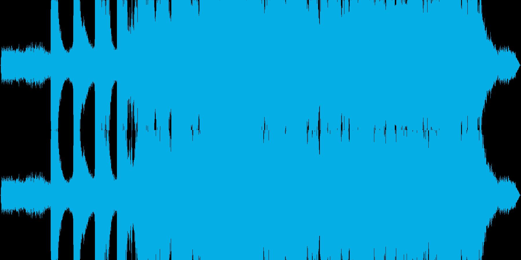 夏の小川をイメージしたBGMの再生済みの波形