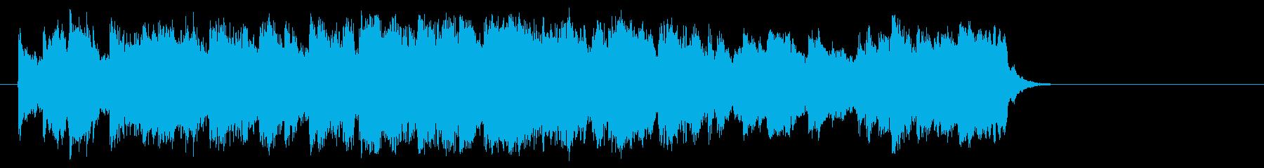 懐かしの歌謡ジャズ風楽曲(サビ)の再生済みの波形