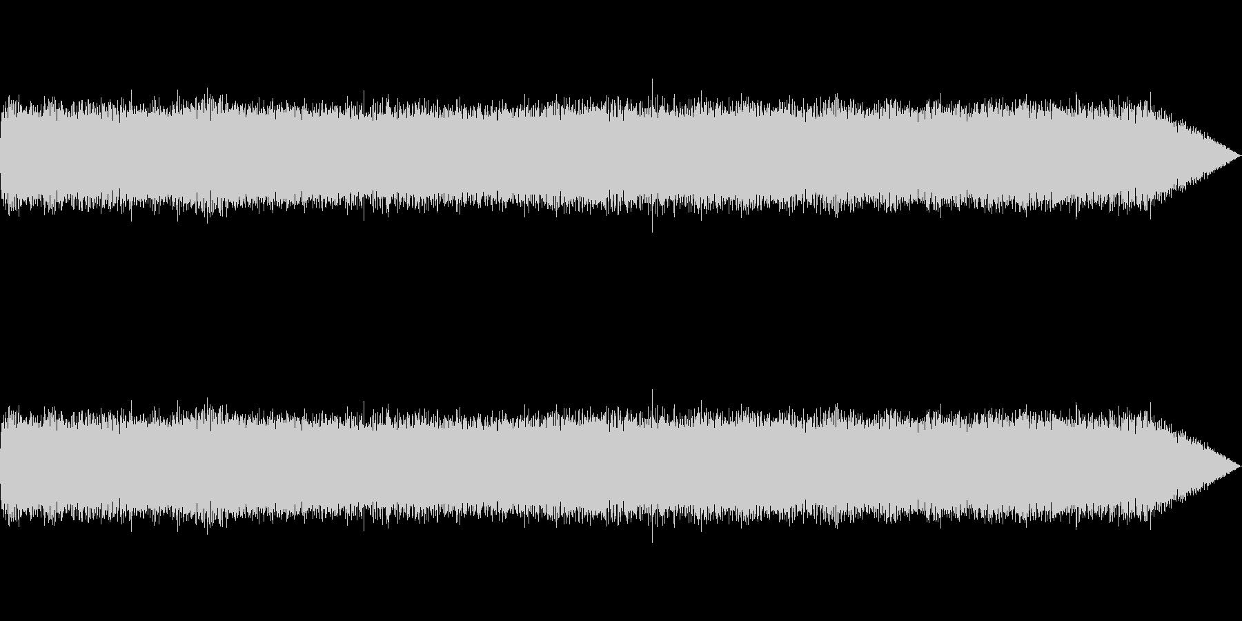 【生録音】ギターアンプノイズ01の未再生の波形