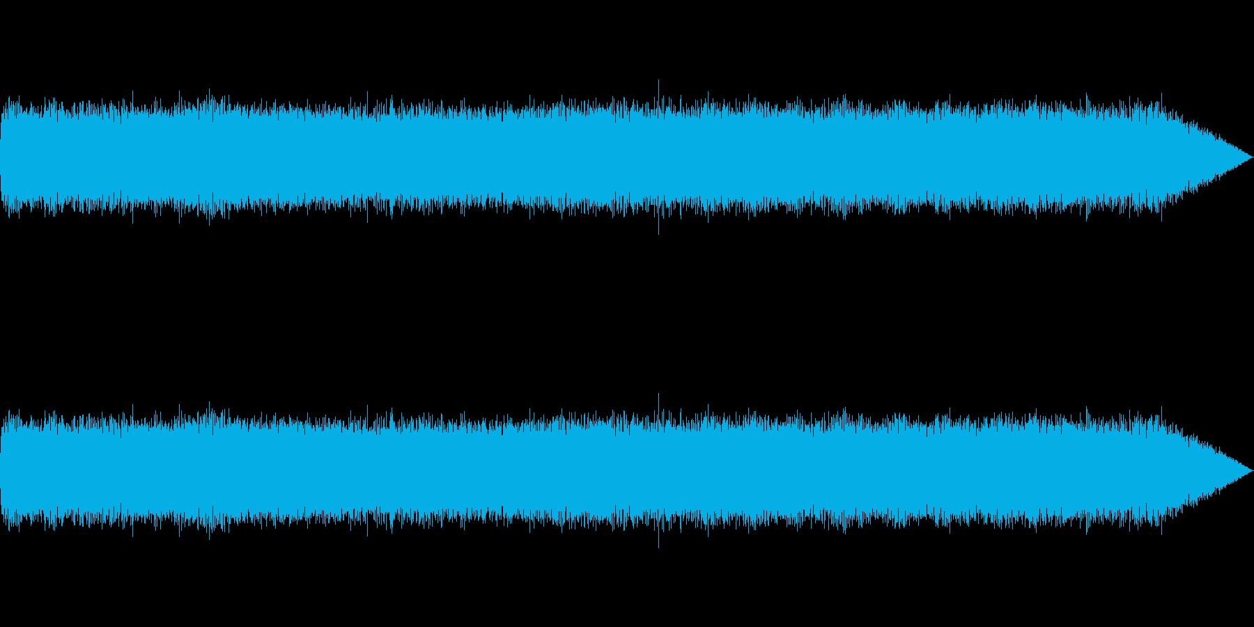 【生録音】ギターアンプノイズ01の再生済みの波形
