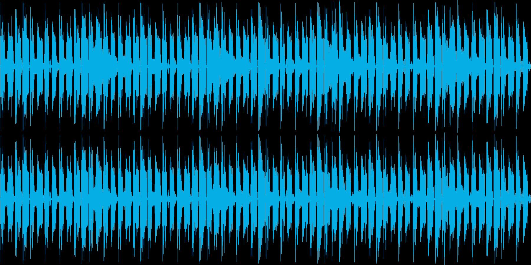 ドラマ用BGMの再生済みの波形