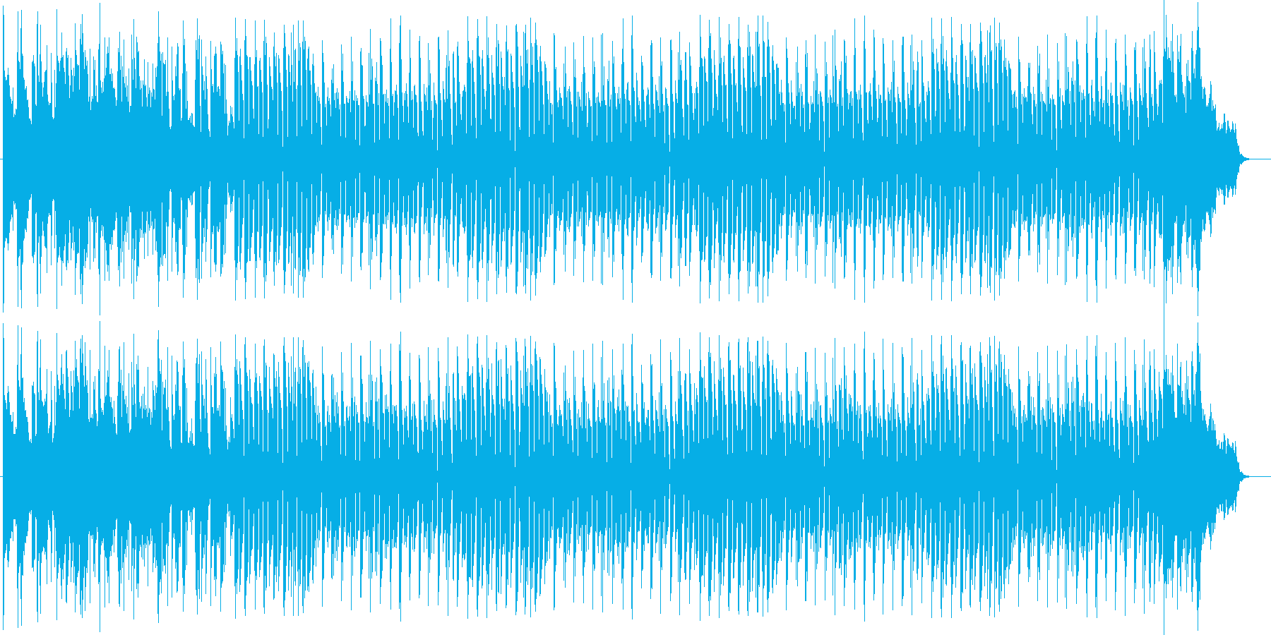 瑞々しさを感じるシンセポップスの再生済みの波形