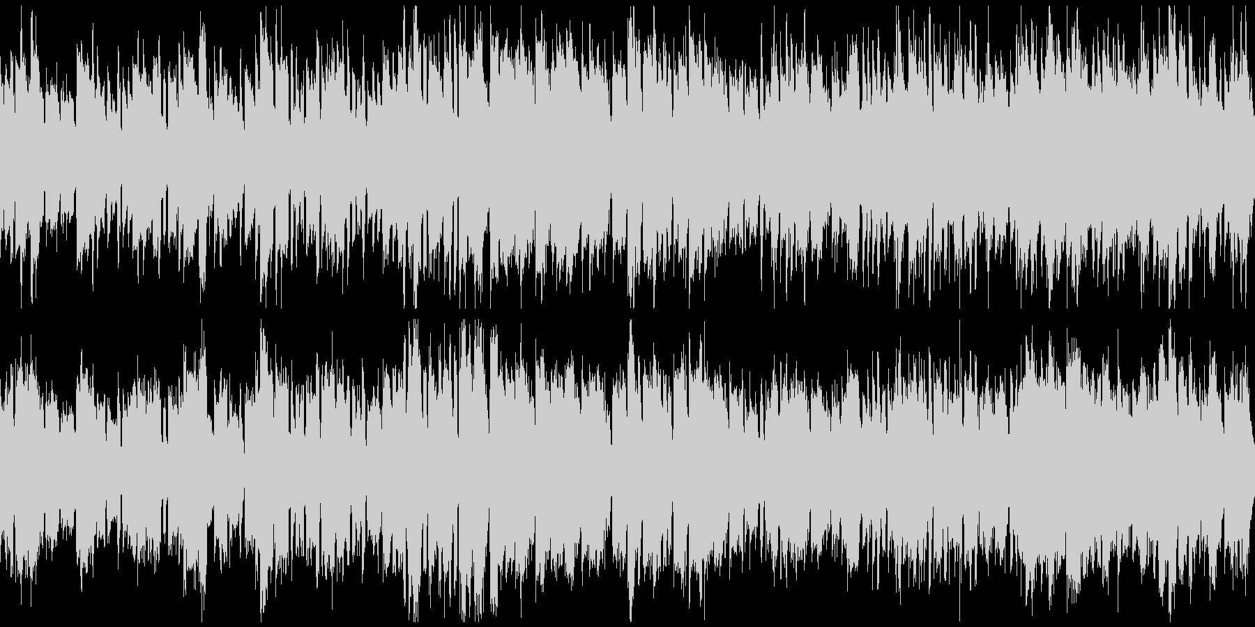 ほのぼのRPGの村+バイオリン(ループ)の未再生の波形