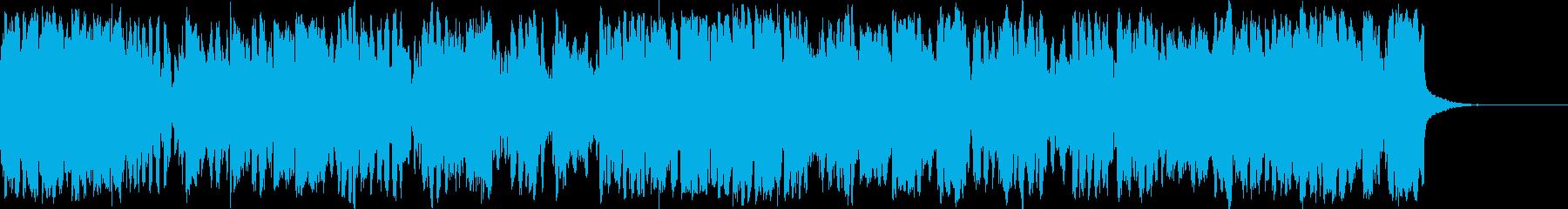 ゴールドベルグ変奏曲木管トリオバージョンの再生済みの波形