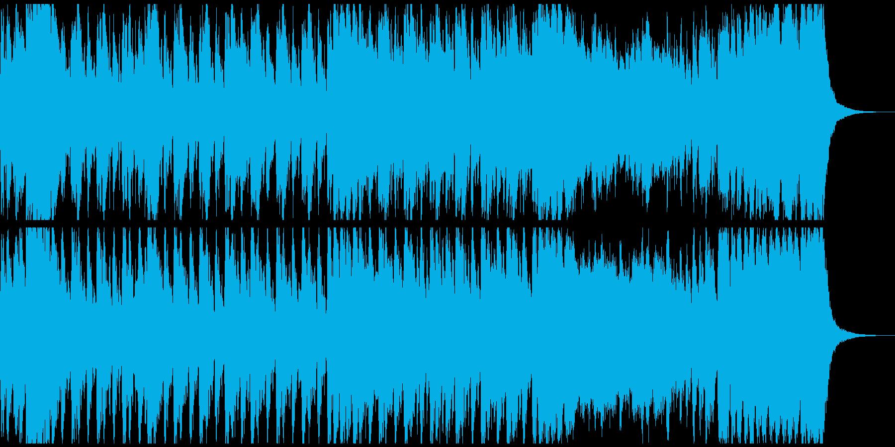 冒険RPGのOP風オケ 約60秒メロ抜きの再生済みの波形