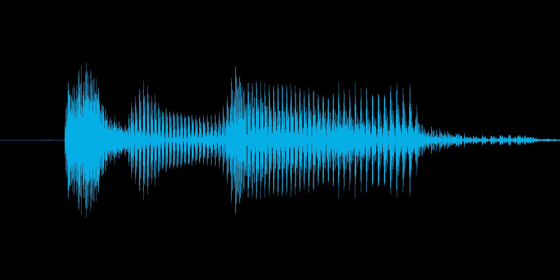 「2 AM」英語発音の再生済みの波形