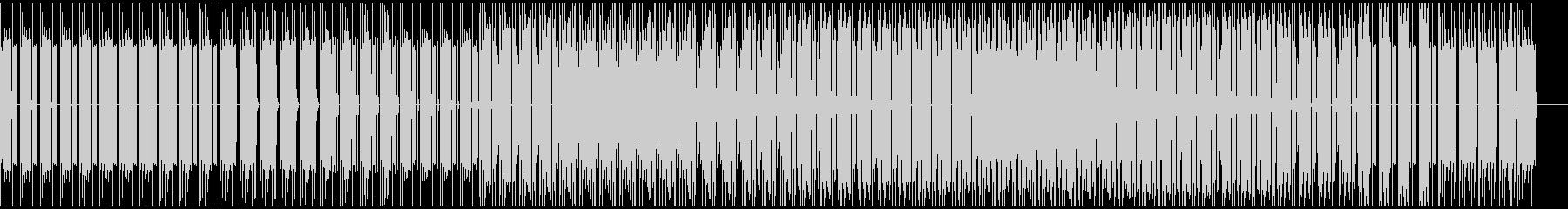 ベースハウスの未再生の波形