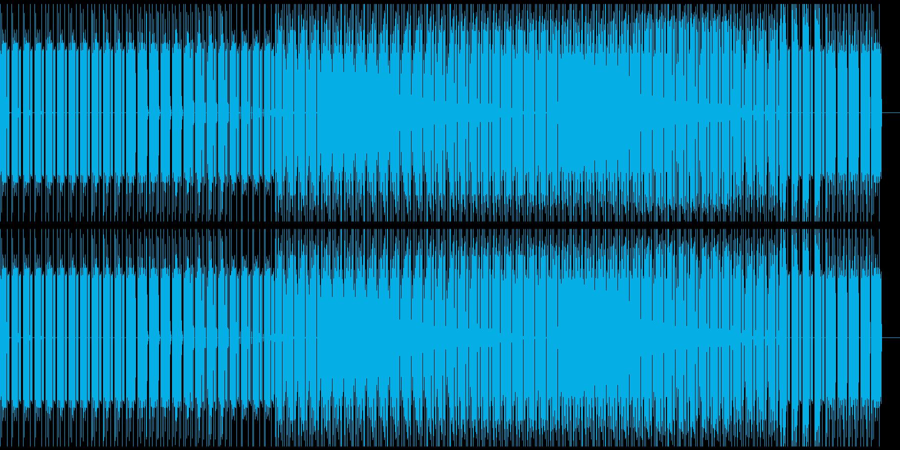 ベースハウスの再生済みの波形