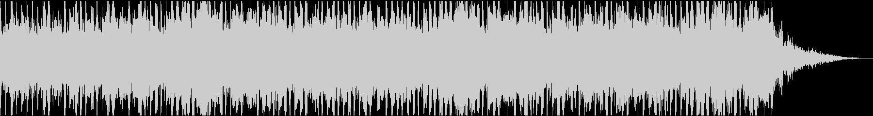 ナレーション、説明、解説用のBGMですの未再生の波形