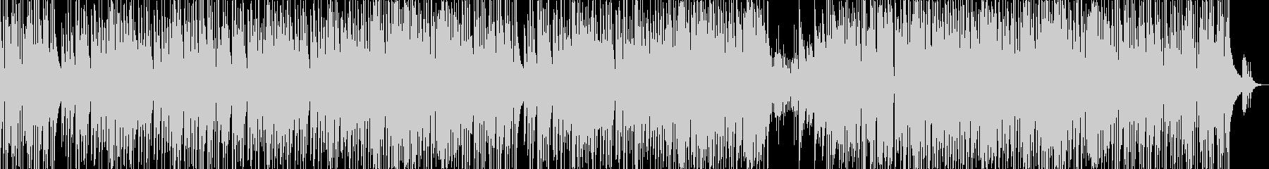 軽快なピアノのトリオジャズ風曲ですの未再生の波形