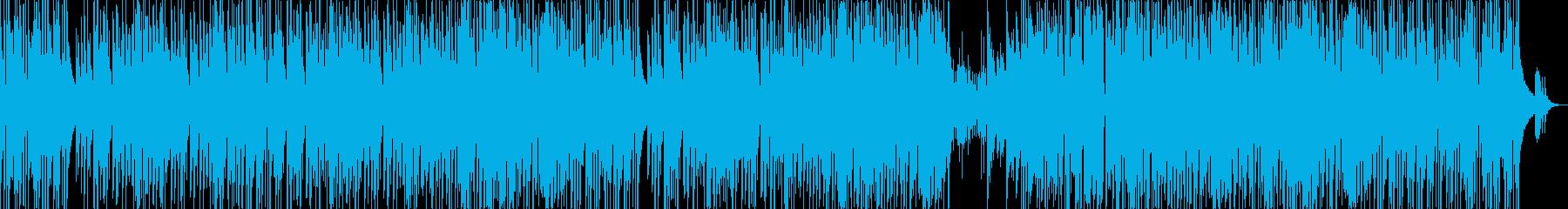 軽快なピアノのトリオジャズ風曲ですの再生済みの波形