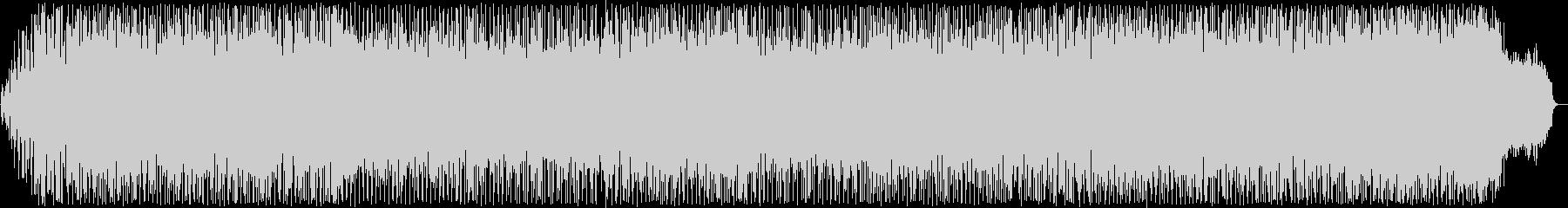 スピード感のあるポップス曲の未再生の波形