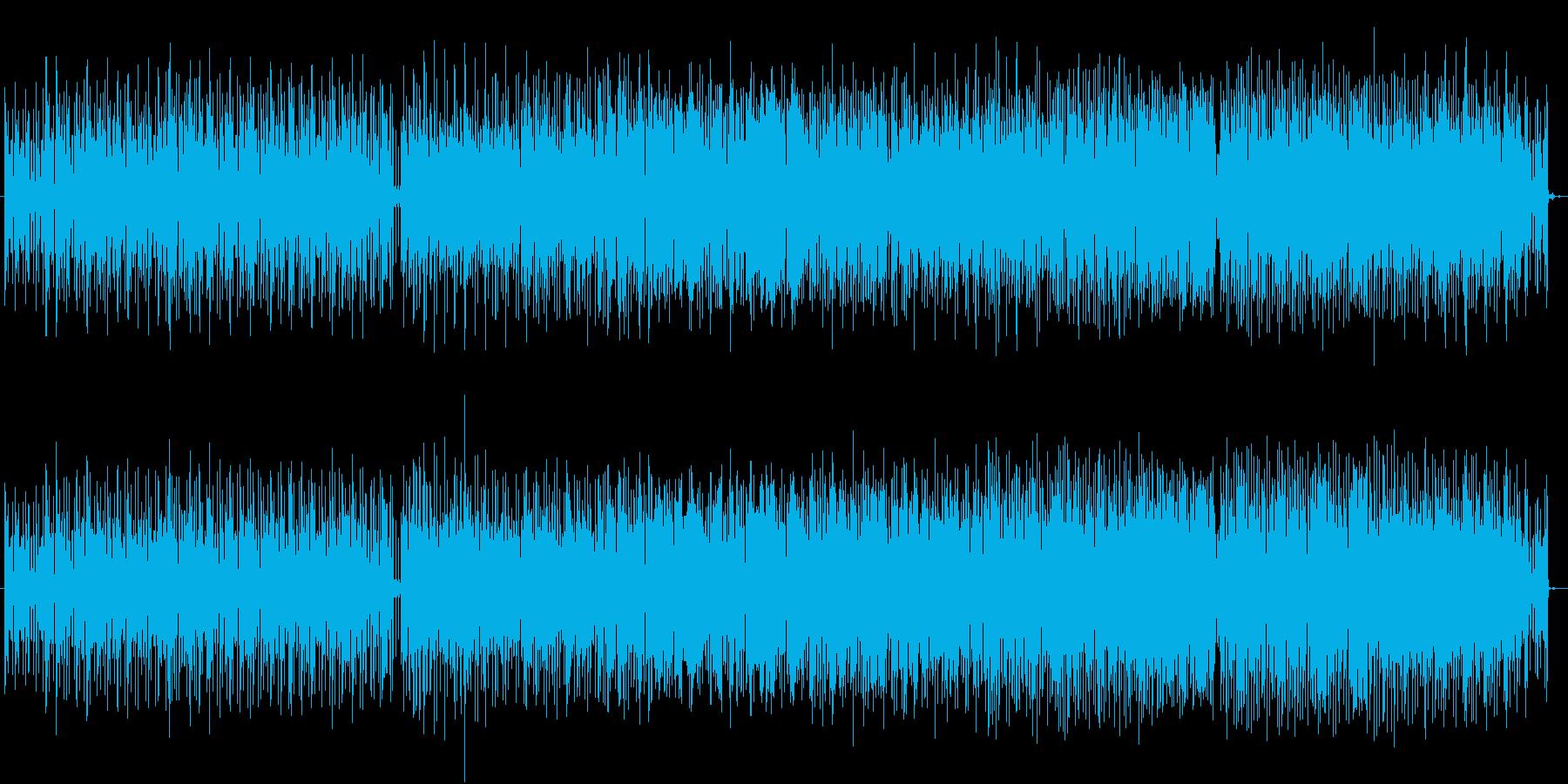 冬の寒い海や空気をイメージした切ない曲の再生済みの波形