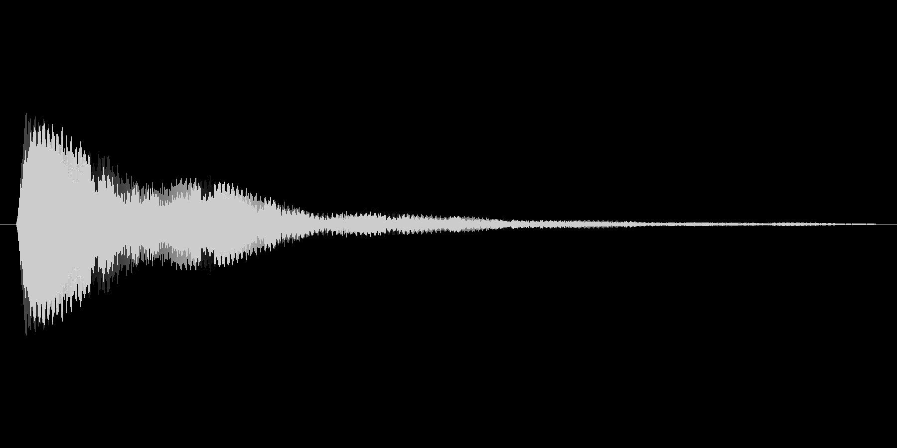 タップ.カーソル移動.クリック.決定12の未再生の波形