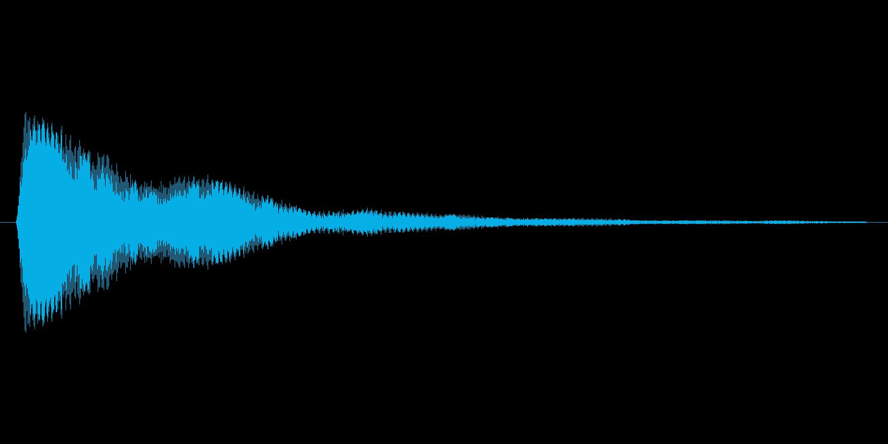 タップ.カーソル移動.クリック.決定12の再生済みの波形