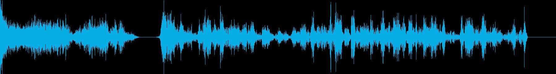 TVFX POPなザッピング音 10の再生済みの波形