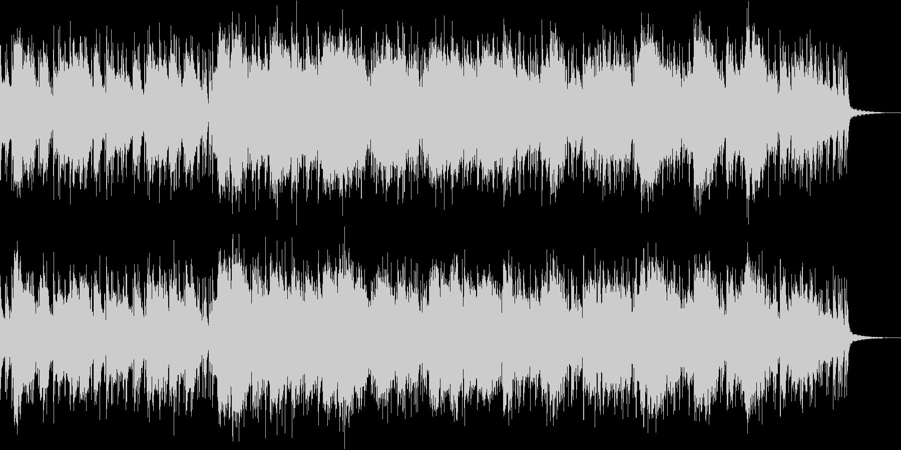 荒野をイメージしたスライドギターインストの未再生の波形