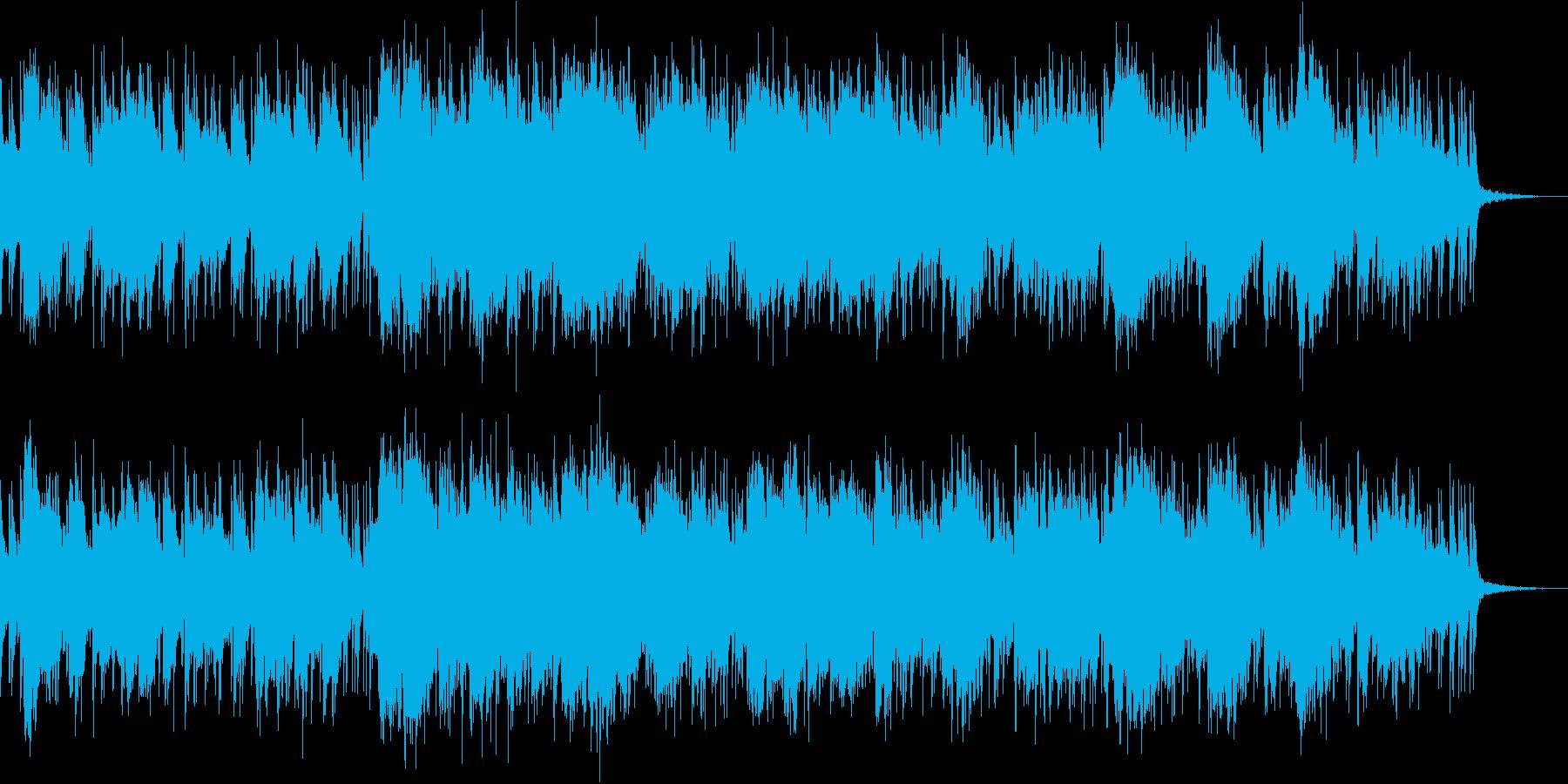 荒野をイメージしたスライドギターインストの再生済みの波形