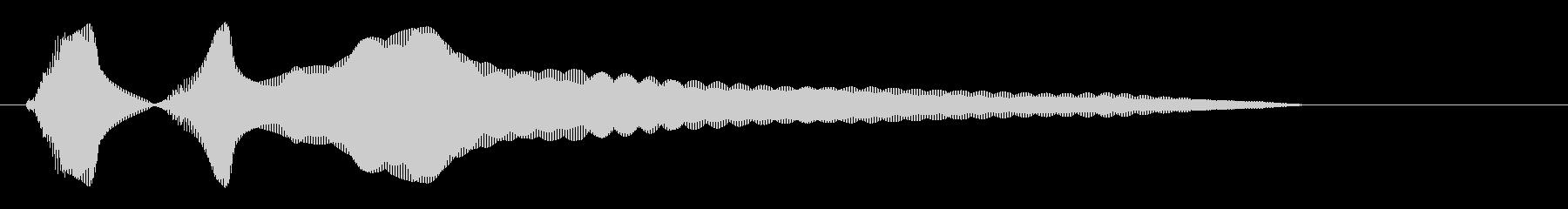 キラーン(金属音系)の未再生の波形