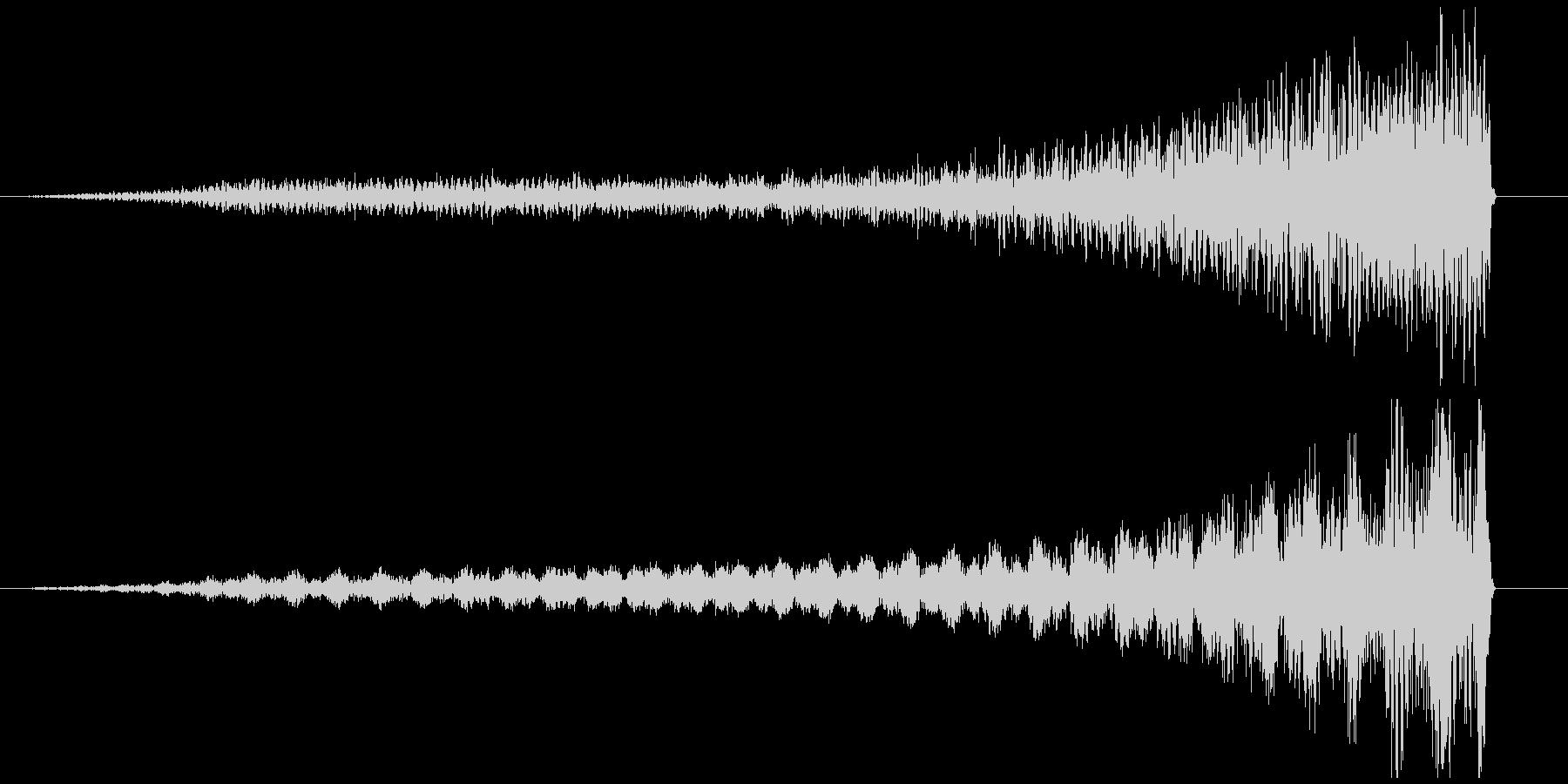 リバースピアノ長め ホラー サスペンス系の未再生の波形