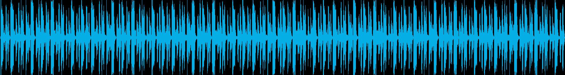 奇妙で軽快なEDMLOOPの再生済みの波形