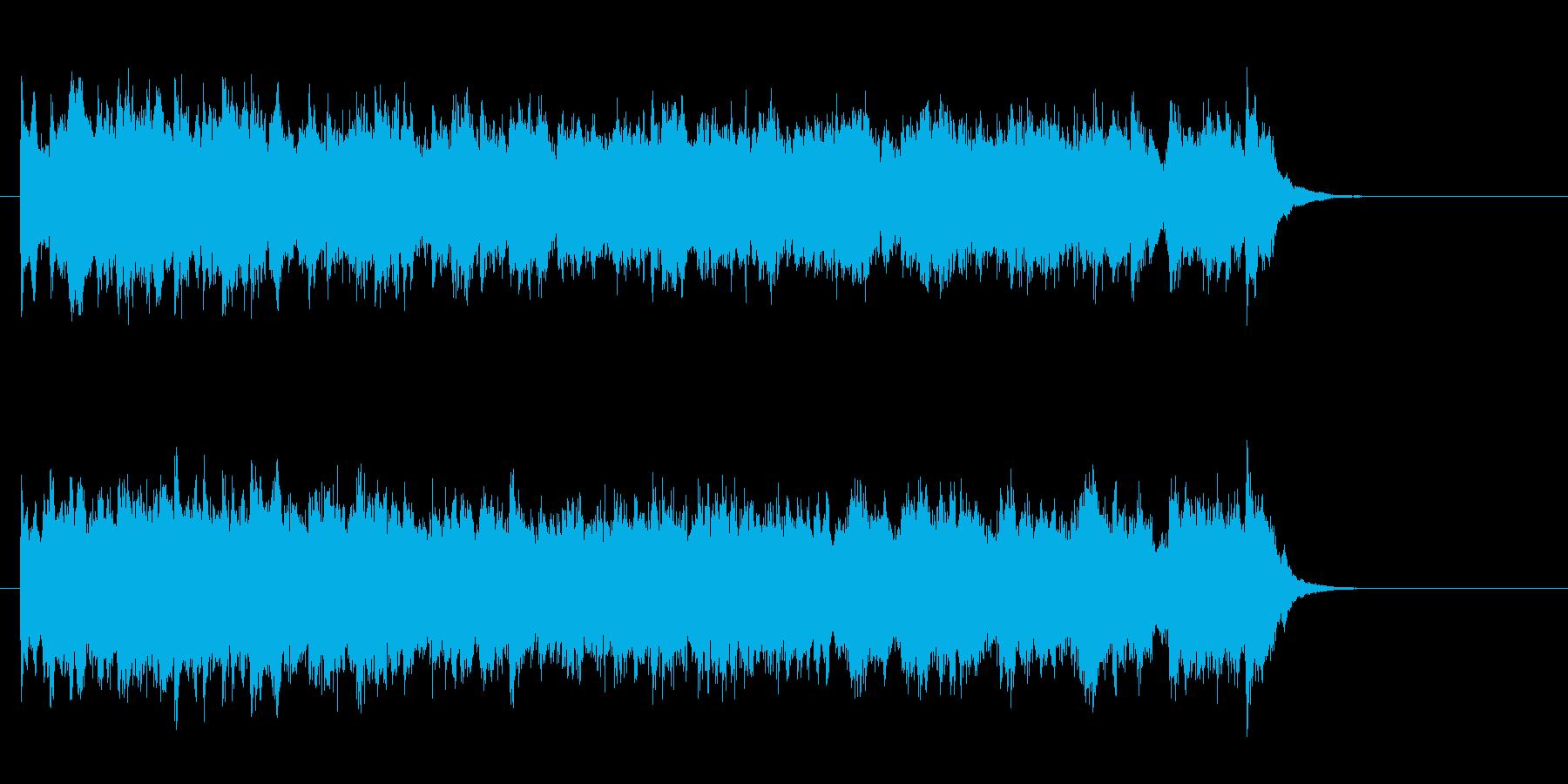 感傷的なピアノバラード(サビ)の再生済みの波形