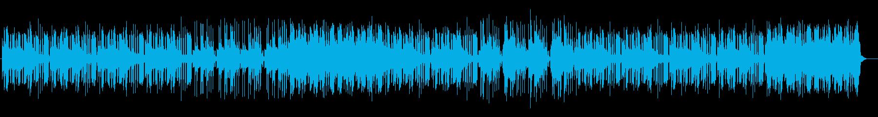 ファンタジー感のある静かなワルツポップスの再生済みの波形