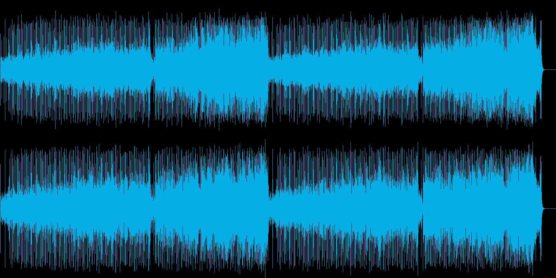 おどけた軽快なポップ(フルサイズ)の再生済みの波形
