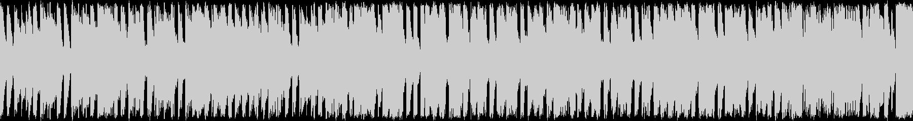 ほのぼのした雰囲気のポップス ループ曲の未再生の波形