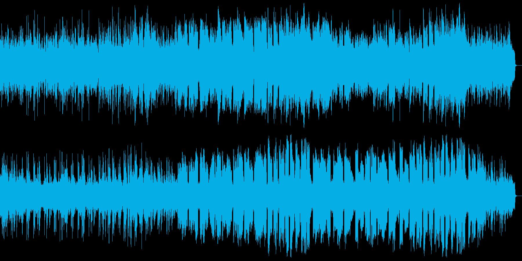 哀愁感のある大人のメロディアスな楽曲の再生済みの波形